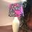Thumbnail: Pink African Print Traditional Shade & Base