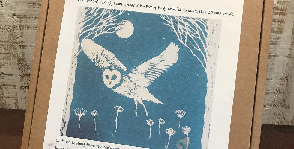 Lampshade Kit - Blue Owl