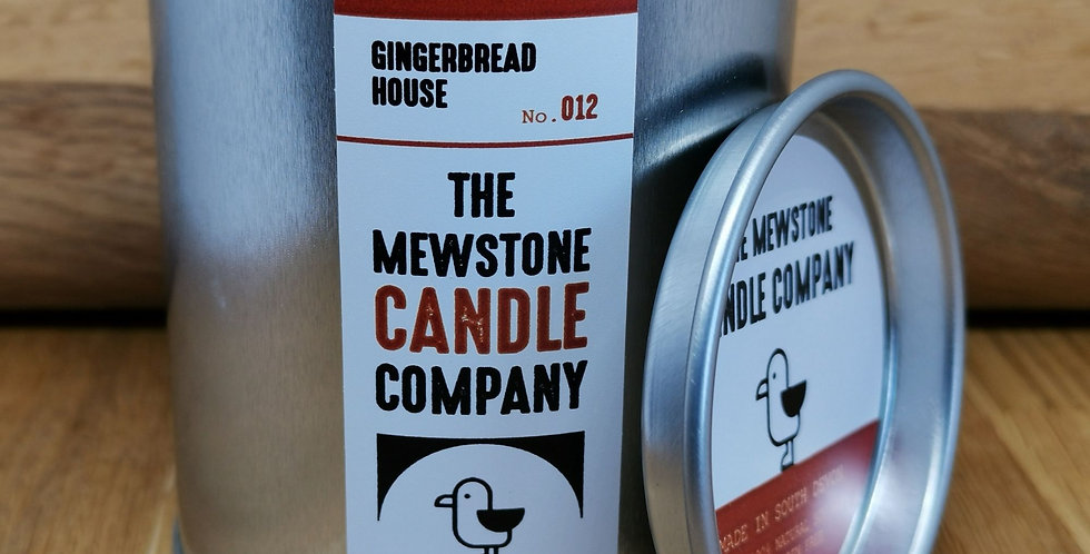 Hand Poured Candles in Tins
