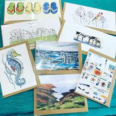 Maggie Smith cards, Goveton artist