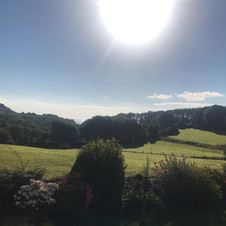 View from Beeson towards Beesands