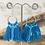 Thumbnail: Blue Tassel Earrings