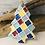 Thumbnail: Small Patterned Multi Coloured Porcelain Tree