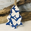Thumbnail: Small Butterfly Blue Porcelain Tree