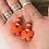Thumbnail: Butterfly Beaded Earrings
