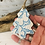 Thumbnail: Small Butterfly Turquoise Porcelain Tree