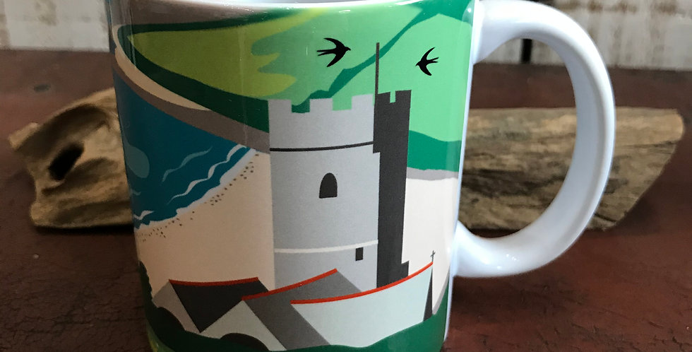 Wembury Beach Ceramic Mug