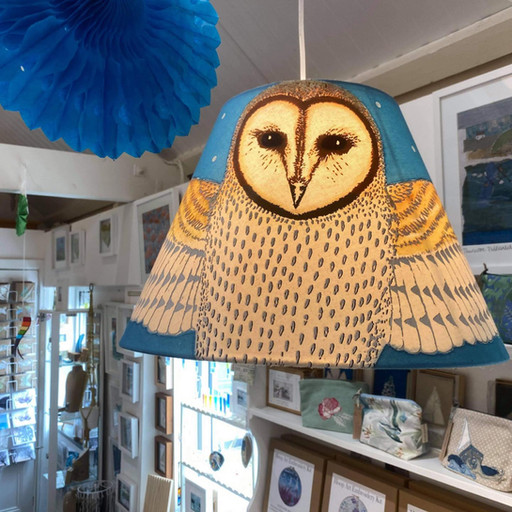 Sue Farrow-Jones lampshade, handmade near East Allington
