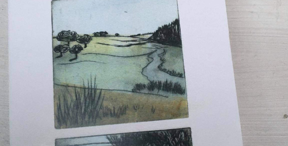 Devon Scenes Notebook