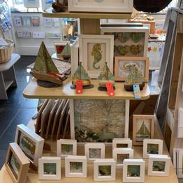 Scarlett & Sid's display, handmade in Kingsbridge