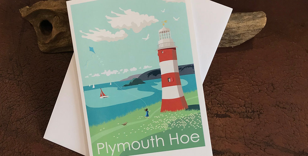 Plymouth Hoe Card