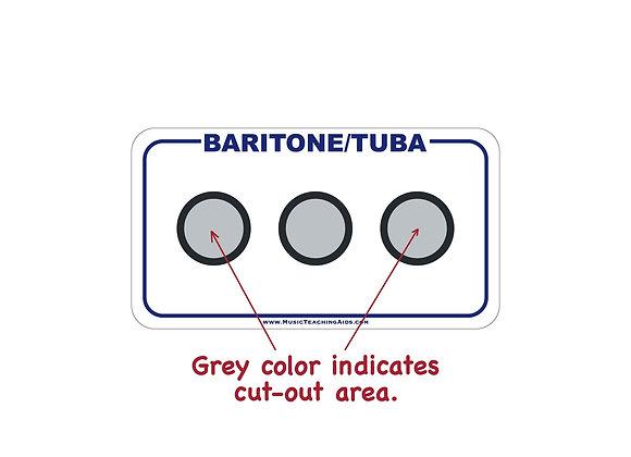 Baritone/Tuba Fingering Chart Magnet