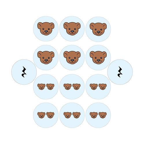 Picture Rhythm Pack - Teddy Bear