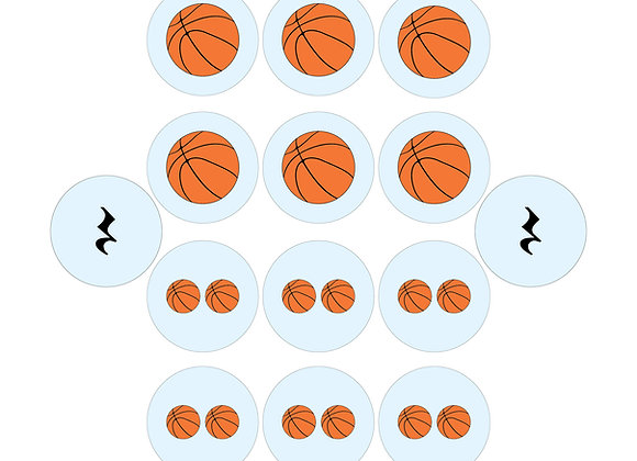 Picture Rhythm Pack - Basketball