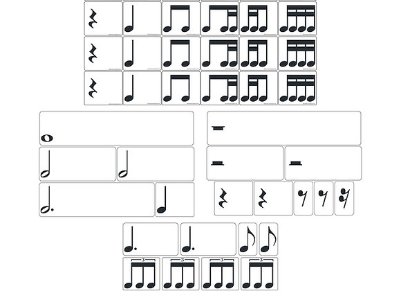 Rhythm Magnets Complete Combo Set - Sets 1, 2, 3, 4, & Rest Pack