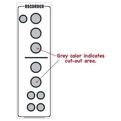 Recorder Fingering Chart Magnet