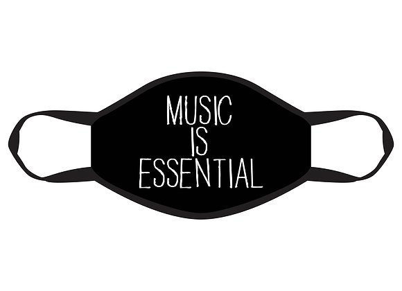 Music is Essential Face Mask