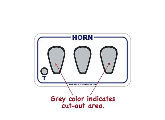French Horn Fingering Chart Magnet