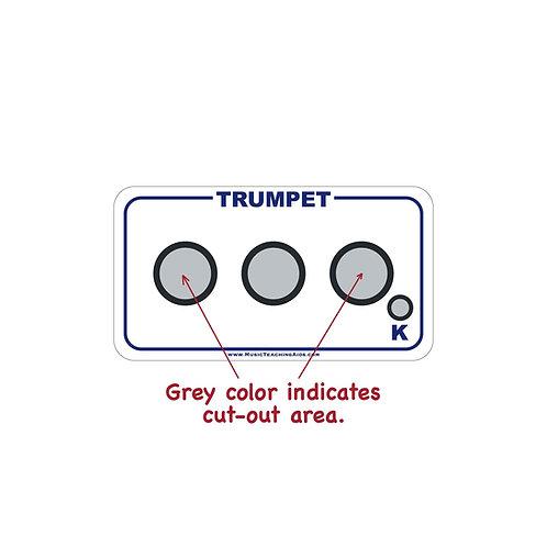 Trumpet Fingering Chart Magnet