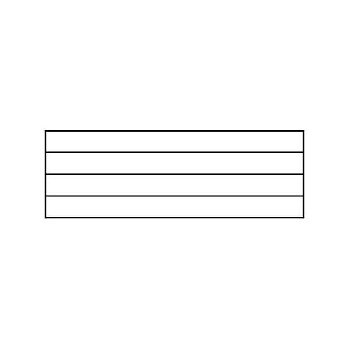 Music Staff Self-inking Rubber Stamp