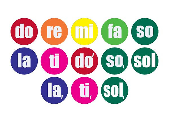 Solfege Dots Colors - Student Pack