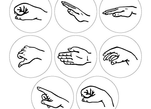 Solfege Hand Signs - Student Pack