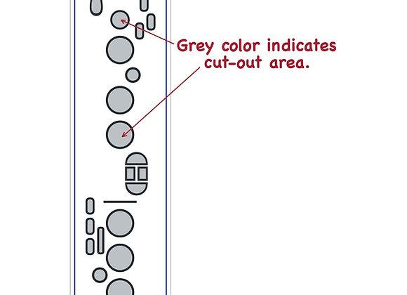 Saxophone Fingering Chart Magnet - Mega Size
