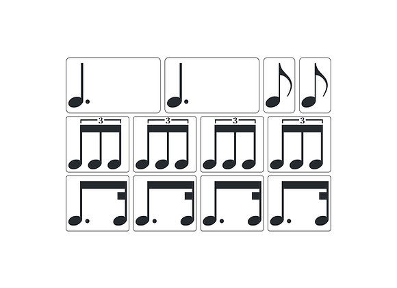Rhythm Magnets - Set 4