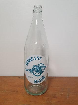 Sergent 750ml Ceramic Label Bottle Bear Wares Vintage www.bearwaresvintage.com.au Old bottles Shop advertising