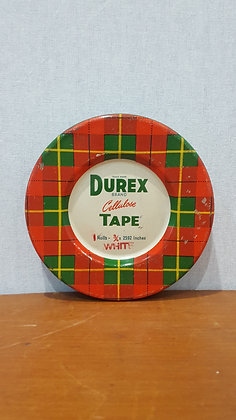 Bear Wares Vintage Durex Tape Tin www.bearwaresvintage.com.au Old shop advertising