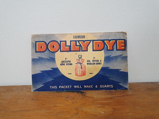Vintage Dolly Die Packet, Bear Wares Vintage, www.bearwaresvintage.com.au, old shop, vintage advertising