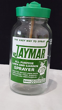 Jaymar Sprayer Bottle, Bear Wares Vintage www.bearwaresvintage.com.au Vintage shop advertising, old bottles