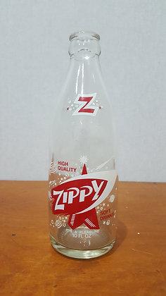 Zippy Party size 10 oz Ceramic Label Crown Seal Bottle www.bearwaresvintage.com.au Old bottles shop advertising