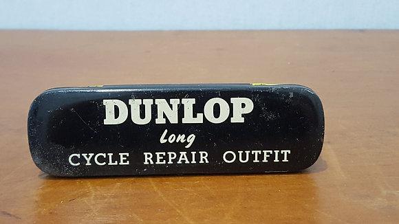 Bear Wares Vintage Dunlop Cycle Repair Outfit Tin www.bearwaresvintage.com.au Old shop advertising