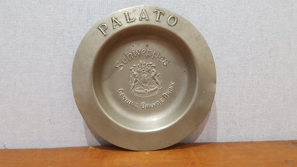 Schweppes Palato Advertising Ashtray Bear Wares Vintage www.bearwaresvintage.com.au Old shop advertising pub