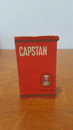 Bear Wares Vintage Capstan Special Mild Packet www.bearwaresvintage.com.au Old shop advertising