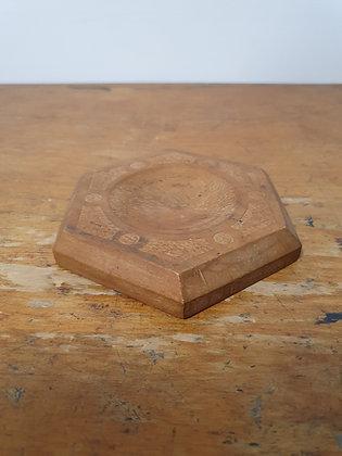 Old Hand Carved Wooden Butter Dish, Bear Wares Vintage, www.bearwaresvintage.com.au, repurpose, vintage handmade, decor