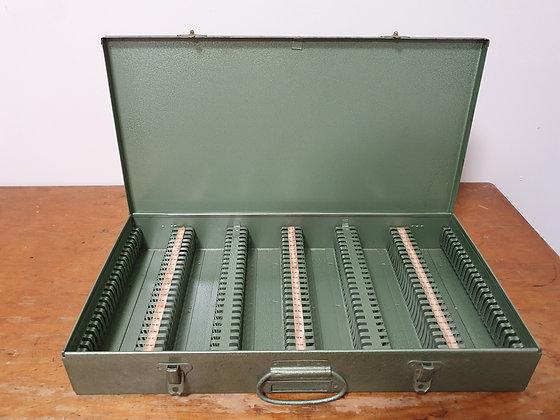 Vintage slide box, Bear Wares Vintage, www.bearwaresvintage.com.au, old photos, old slides, treasure box, vintage