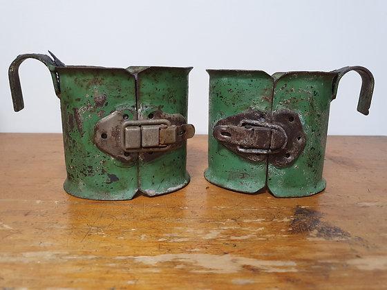 Vintage Inversion Boots, Bear Wares Vintage, www.bearwaresvintage.com.au, old medical inventions, display, statement piece,