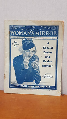 Bear Wares Vintage Woman's Mirror Magazine - May 21 1935 www.bearwaresvintage.com.au