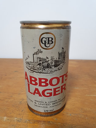 Abbots Lager Can