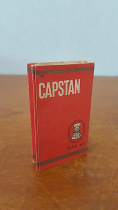 Bear Wares Vintage Capstan Special Mild Cigarette Packet www.bearwaresvintage.com.au Old shop advertising