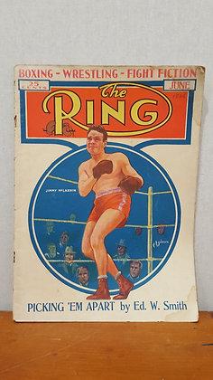 Bear Wares Vintage The Ring Boxing Magazine - June 1936 www.bearwaresvintage.com.au