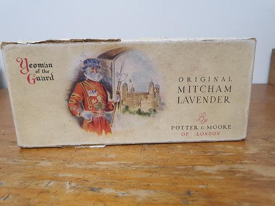 Vintage Lavender cardboard box