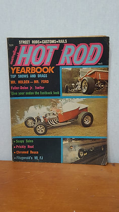 Bear Wares Vintage Australian Australian Hot Rod Yearbook Magazine  www.bearwaresvintage.com.au
