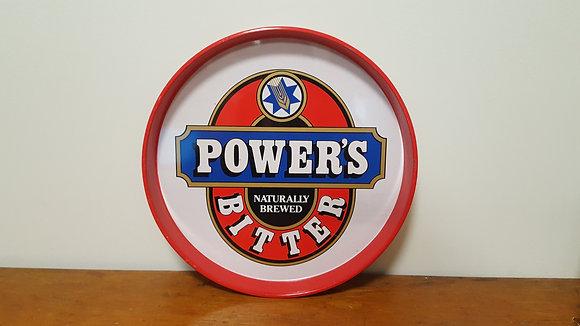Power's Bitter Round Drink Tray Bear Wares Vintage www.bearwaresvintage.com.au Old shop advertising