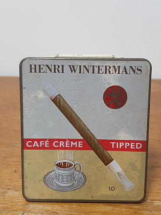 Henri  Wintermans Cigarette Tin Bear Wares Vintage www.bearwaresvintage.com.au Old shop advertising general store tobacco