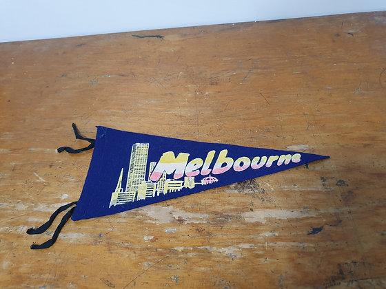 Vintage Pennant Melbourne, Bear Wares Vintage, www.bearwaresvintage.com.au, old signs, felt, places, vintage home
