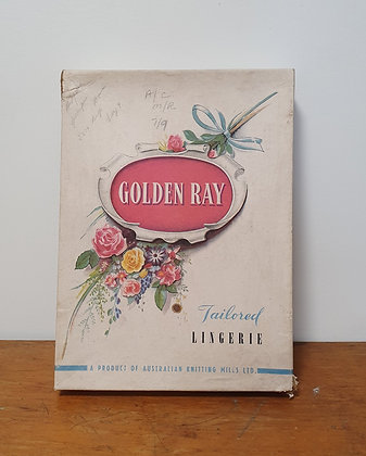 Golden Ray Cardboard Box