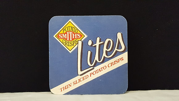 Potato Smiths Lites Coaster, Bear Wares Vintage www.bearwaresvintage.com.au Vintage advertising